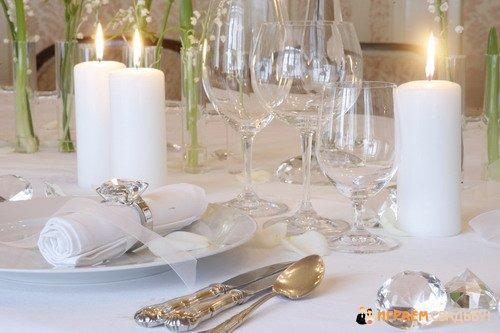 Свадебный прием особый момент в