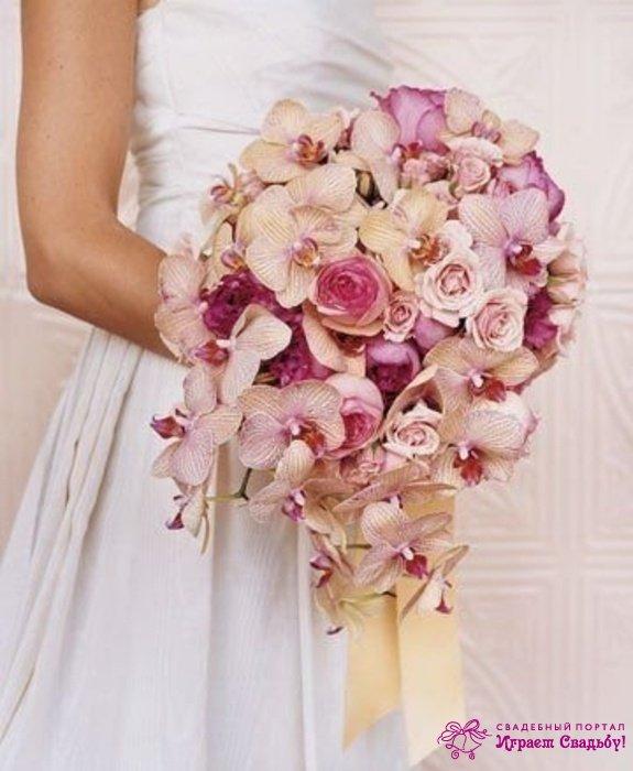 Фото букетов для невесты на свадьбу 45