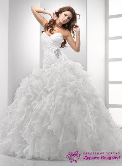 Шикарные Очень Дорогие Свадебное Платье 65