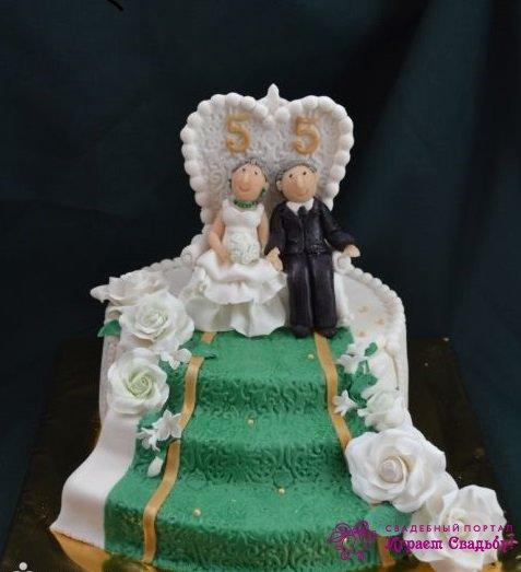 55 лет свадьбы поздравления