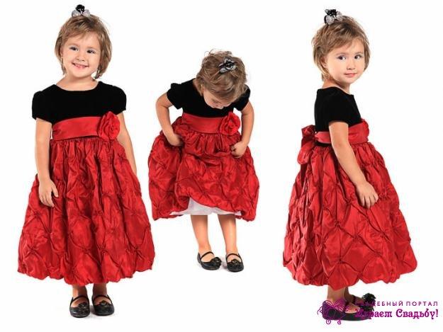 Выкройки платьев для девочек 3-4 года
