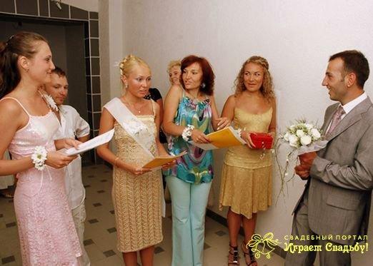 свадебные конкурсы прически испытания для невесты и жениха