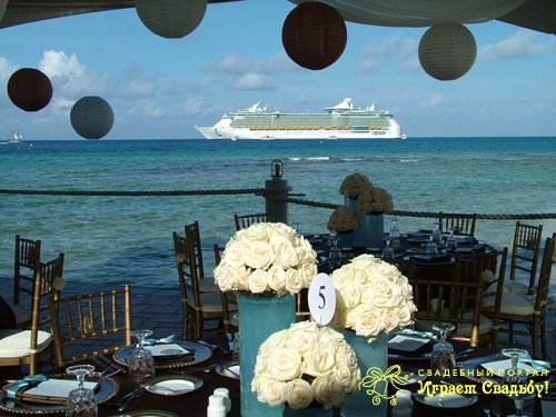 Indian river cruise wedding