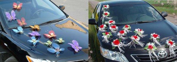 Как украсить свадебную машину своими рук